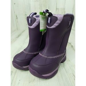 Winter Snow Boots Baby Infant Girl 9 Months Purple
